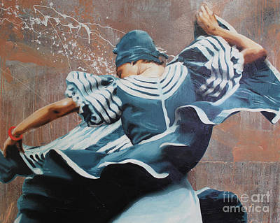 Spagnola Painting - Dancer by Dustin Spagnola