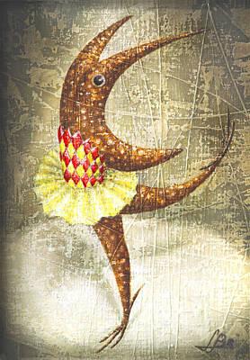 Dancer Print by Lolita Bronzini