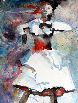 Dancer Print by Mindy Newman