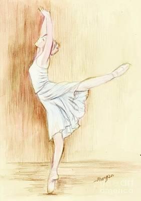 Dancer Print by Morgan Fitzsimons