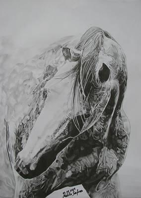Dancing Angel Print by Melita Safran
