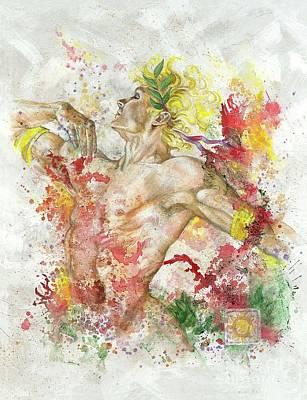 Dancing Apollo Print by Rineke De Jong