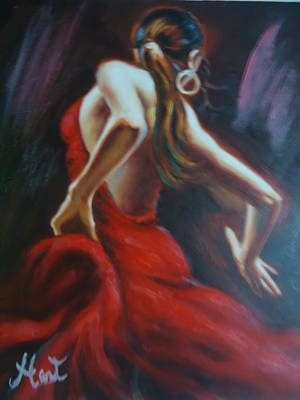 Dancing In The Twilight Hour Original by Rodney Hart