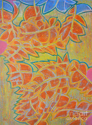 Painting - Dancing Leaves by Adel Nemeth