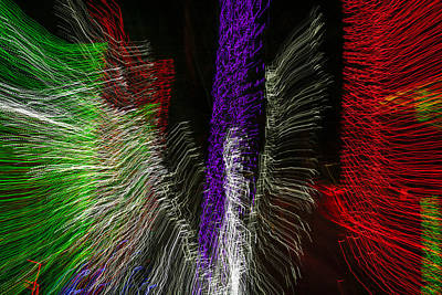 Observer Photograph - Dancing Lights 4 by Penny Lisowski