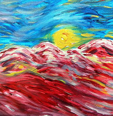 Dancing Sun Print by Amy Drago