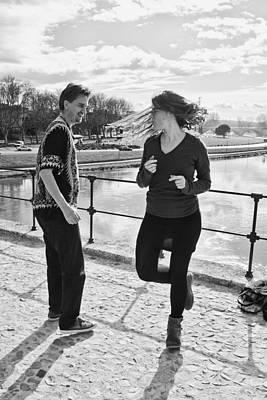 Femme Photograph - Dancing Sur Le Pont Avignon by Hugh Smith