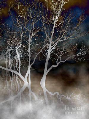 Spirt Digital Art - Dancing Tree by Paula Guttilla