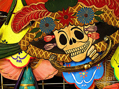 Mazatlan Photograph - Dancing With The Dead by Mexicolors Art Photography