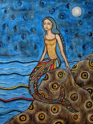 Rain Ririn Painting - Danette by Rain Ririn