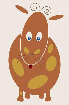 Fun Art Drawing - Dangerous Animal by Frank Tschakert