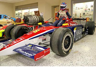 Danica Patrick Rookie Indy Car Print by Steve Gass