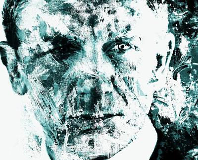 Daniel Craig 3b Print by Brian Reaves