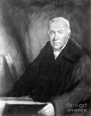 Daniel Rutherford, Scottish Chemist Print by Wellcome Images