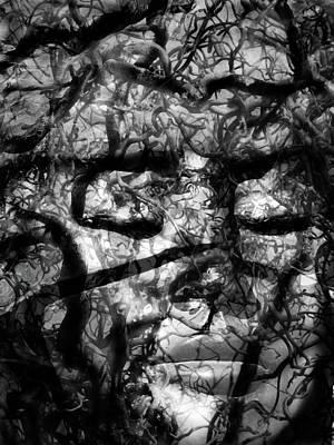 Goddess Mythology Mixed Media - Daphne Sacrifice by Angelina Vick