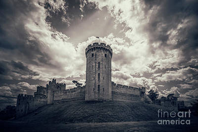 Castle Photograph - Dark Ages by Evelina Kremsdorf