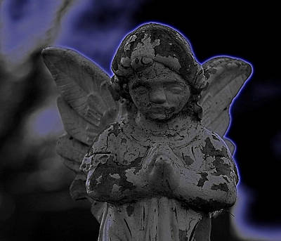 Dark Angel Print by Vincent Duis
