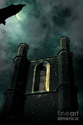 Paranormal Photograph - Dark Castle by Jorgo Photography - Wall Art Gallery