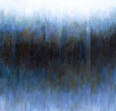 Void Painting - Dark Ice by Jeremy Annett