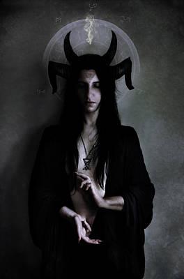 Gothic Digital Art - Dark Meditation by Cambion Art