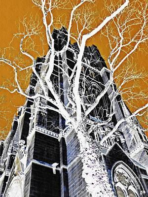 Dark Tower Print by Sarah Loft