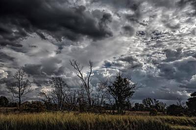 Darkened Skies Print by John Bailey
