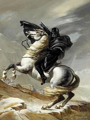 Napoleon Bonaparte Digital Art - Darth Bonaparte by Andrea Gatti