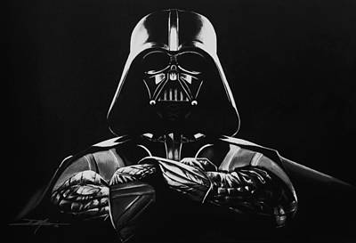 Darth Vader Print by Don Medina