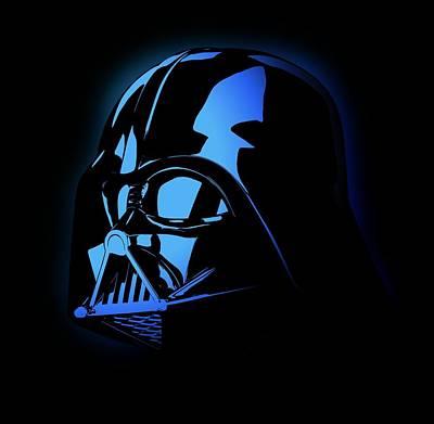Kim Kardashian Drawing - Darth Vader Invader Star Wars by Deadly Swag