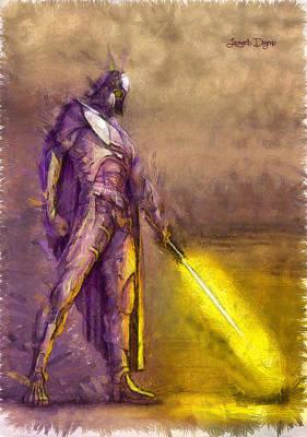 Stormtrooper Digital Art - Darth Vader Reloaded - Da by Leonardo Digenio