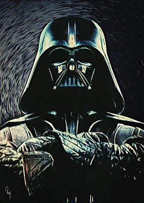 Epic Digital Art - Darth Vader by Taylan Soyturk