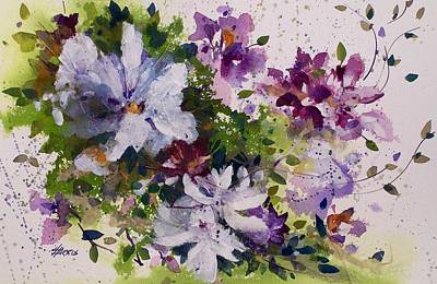 Painting - Dash Of White by Helen Harris