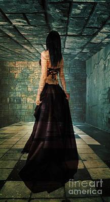 Dungeon Mixed Media - Daunting Moments by Tammera Malicki-Wong