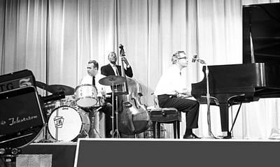 Jazz Pianist Photograph - Dave Brubeck Quartet 1967 by Jan W Faul
