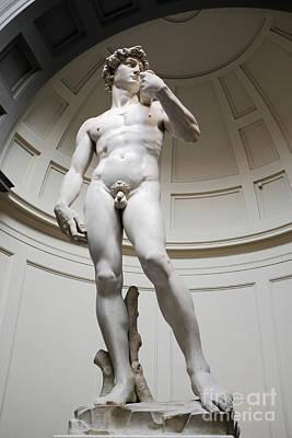 David By Michelangelo Print by Edward Fielding