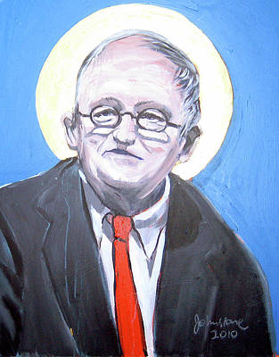 Hockney Painting - David Hockney - Icon by Ray Johnstone