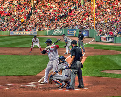 Boston Red Sox Photograph - David Ortiz - Bostonn Red Sox by Joann Vitali