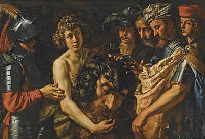 Goliath Painting - David With The Head Of Goliath by Theodor van Loon