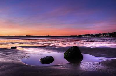 Dawn At Filey Original by Svetlana Sewell