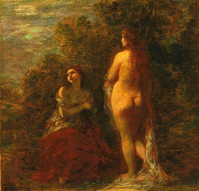Henri Fantin-latour Painting - Dawn by Henri Fantin-Latour