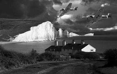 Coast Photograph - Dawn Patrol by Kris Dutson