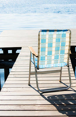 Lawn Chairs Photograph - Day In Paradise by Parker Cunningham