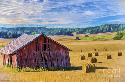 Colorful Contemporary Painting - Day Of August by Veikko Suikkanen