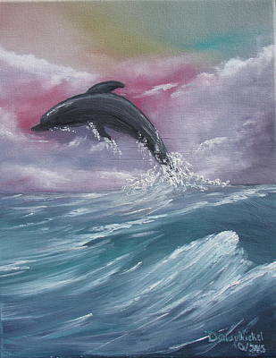 Soaring Painting - Day Of Play by Dawn Nickel