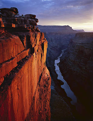 Canyon Photograph - Sunrise At Toroweap by Mike Buchheit