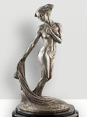 Richard Macdonald Sculpture - Daybreak, Platinum by Richard MacDonald