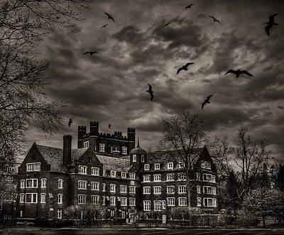 Daydreams Darken Into Nightmares Print by Evelina Kremsdorf