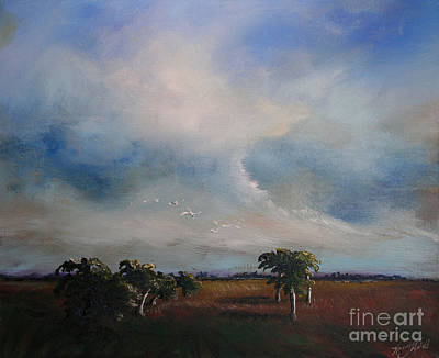 Day's End Print by Michele Hollister - for Nancy Asbell