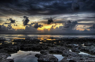 Grey Clouds Photograph - Days End by Ryan Wyckoff