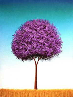 Autumn Landscape Painting - Days To Call On by Rachel Bingaman
